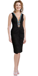 beaded-black-party-dress