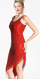 cocktail-red-evening-dress