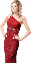 one-shoulder-evening-gown