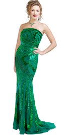 stylish-chiffon-sequinned-curve-hugging-gown