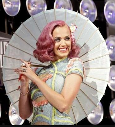 Singer Katy Perry award