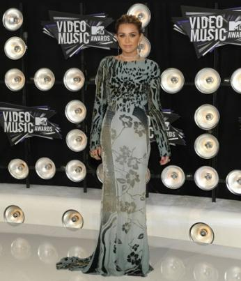 Singer Miley Cyrus awards